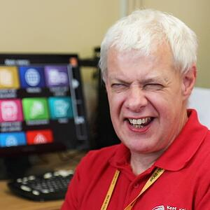 Steve - Assistive Tech Worker at Kent Association for the Blind